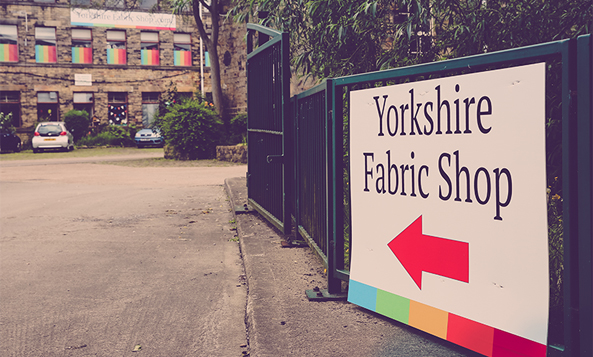 Yorkshire Fabric Shop Mill Shop Open