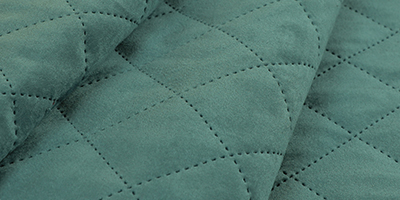 Quilted Velvet Fabric Readily Available