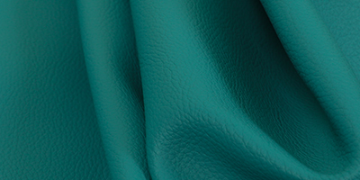 Hudson Teal Colour Leather By Yorkshire Fabric Shop