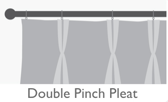 Yorkshire Fabric Shop Double Pinch Pleat Curtains Blog