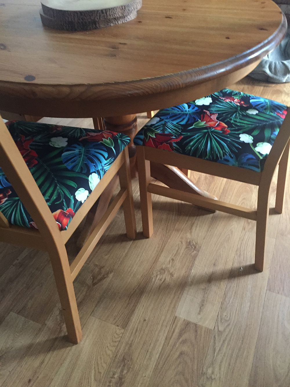 Alison Upholstered Chairs using Yorkshire Fabric Shops Freedom CTR-560