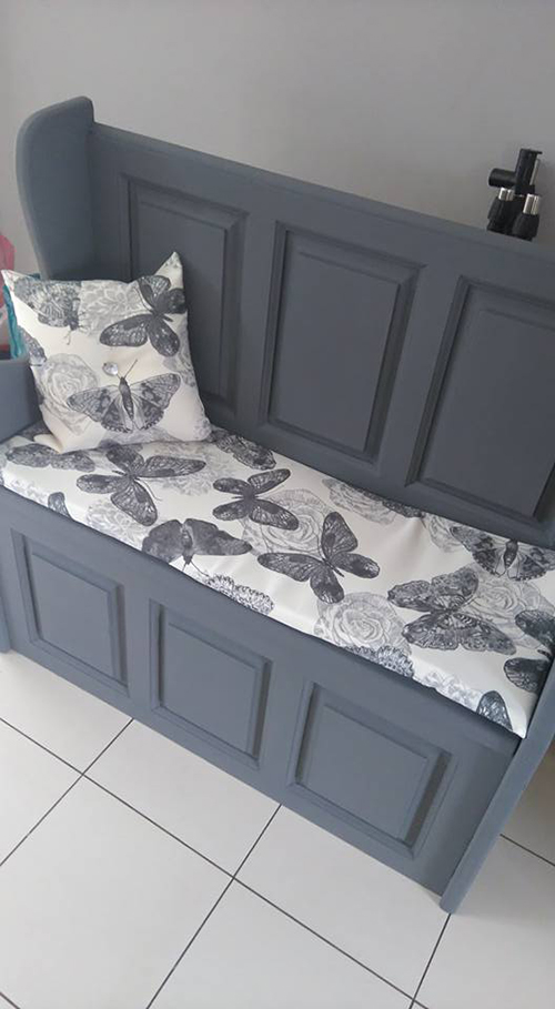 Aid-Iren Using Our CanvasPrint100 Butterfly Pattern Upholstery Fabric