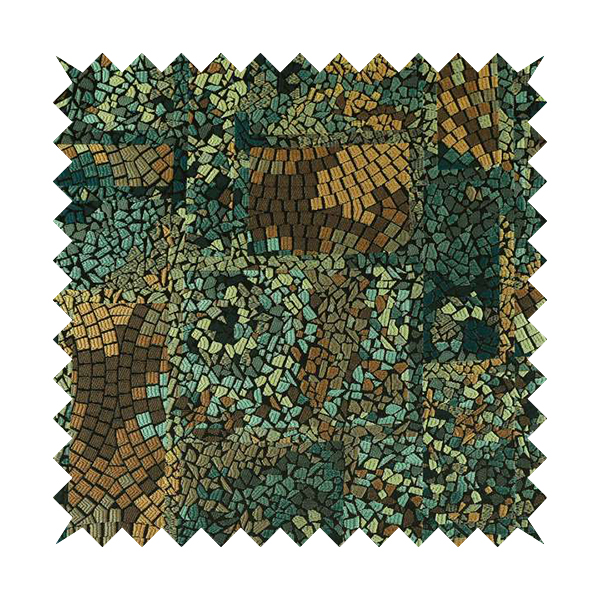Pasha Stained Mosaic Pattern Fabric
