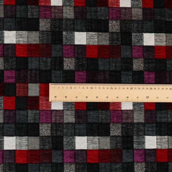 Rapunzel Patchwork Pattern Fabric Collection Designer Furnishing Fabrics CTR-17