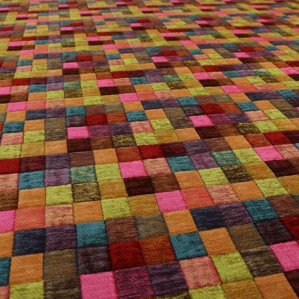 Rapunzel Patchwork Pattern Fabric Collection Designer Furnishing Fabrics CTR-18