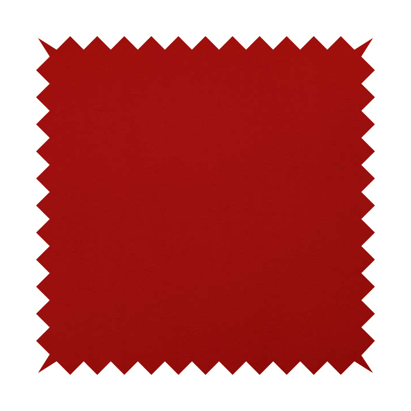 Playtime Plain Cotton Fabrics Collection Red Colour Water Repellent Upholstery Fabric CTR-314