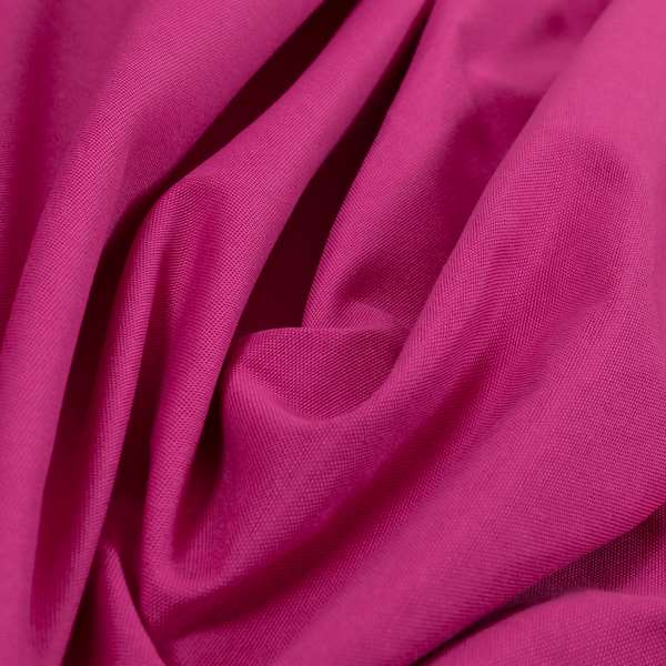 Playtime Plain Cotton Fabrics Collection Bright Pink Colour Water Repellent Upholstery Fabric CTR-316
