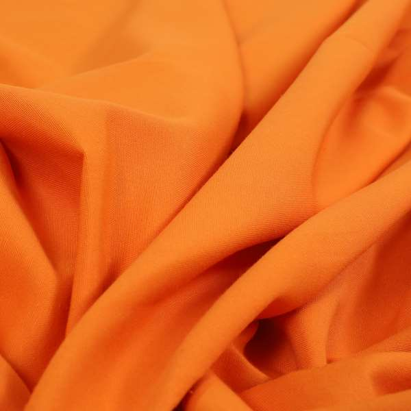 Playtime Plain Cotton Fabrics Collection Orange Colour Water Repellent Upholstery Fabric CTR-321