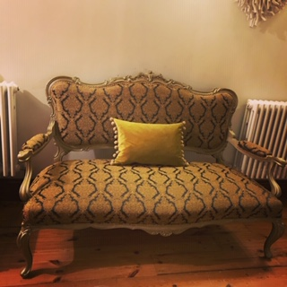 CTR-423 Elstow Fabric Used To Upholster A Sofa