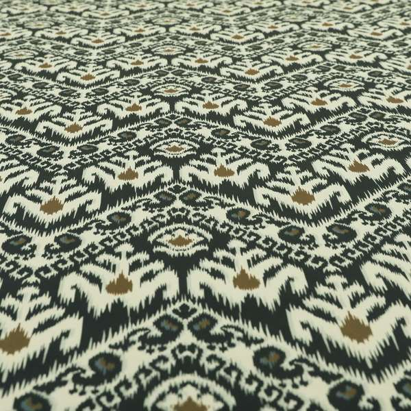 Freedom Printed Velvet Fabric Collection Designer Pattern Upholstery Fabric CTR-53