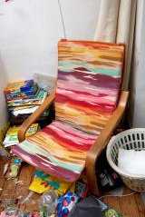 Suzanne Colourful Upholstered Chair