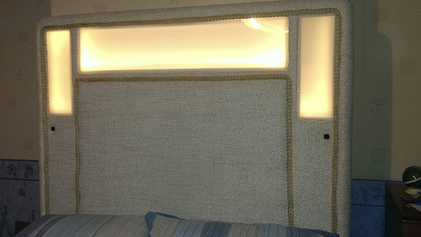 Colin Lighted Headboard Project