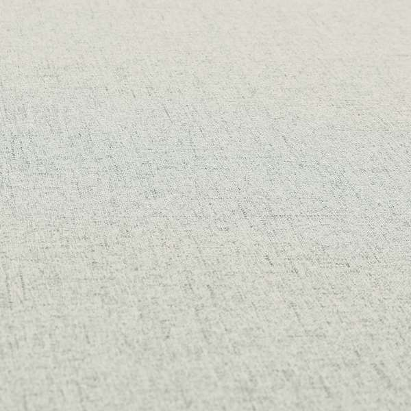 Ibiza Soft Chenille Furnishing Upholstery Fabric In Silver Colour