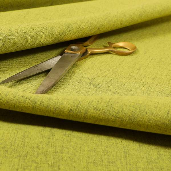 Ibiza Soft Chenille Furnishing Upholstery Fabric In Green Colour