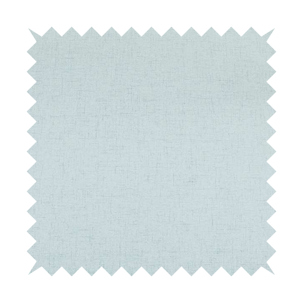Ibiza Soft Chenille Furnishing Upholstery Fabric In Light Sky Blue Colour