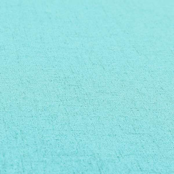 Ibiza Soft Chenille Furnishing Upholstery Fabric In Teal Blue Colour