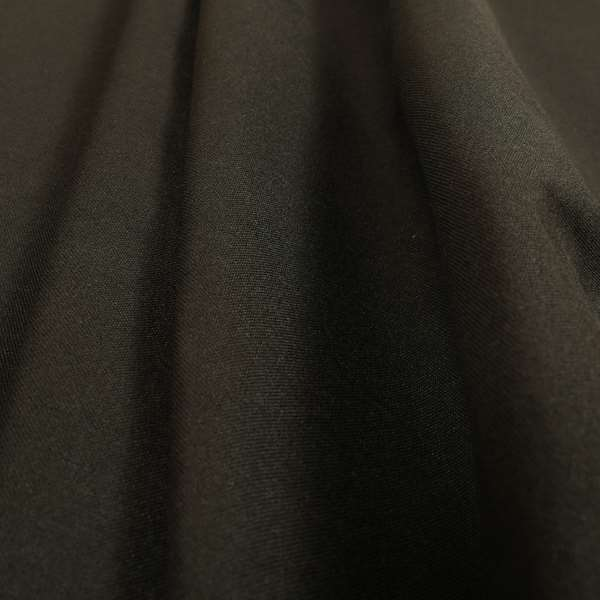 Ibiza Soft Chenille Furnishing Upholstery Fabric In Black Colour