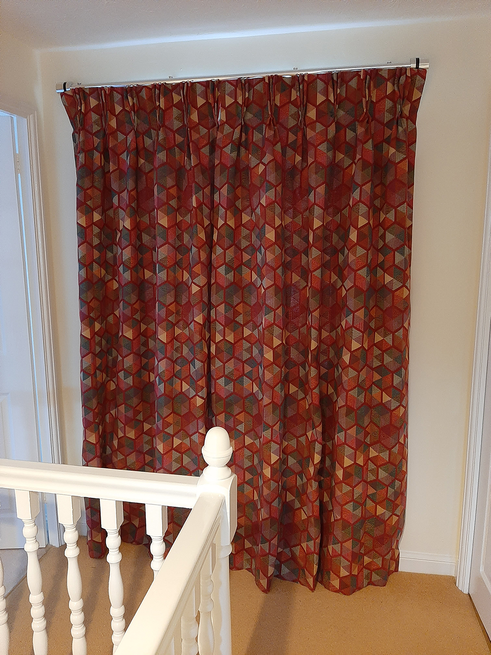 Arcadia CTR-737 Fabric Made Curtains For Our Customer