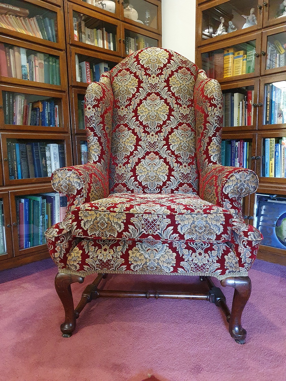 My Chair Your Fabric CTR-151 Legacy Damask Upholstery Fabric