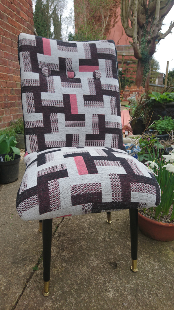 Another Chair By Julia Using JO-74 Fabric