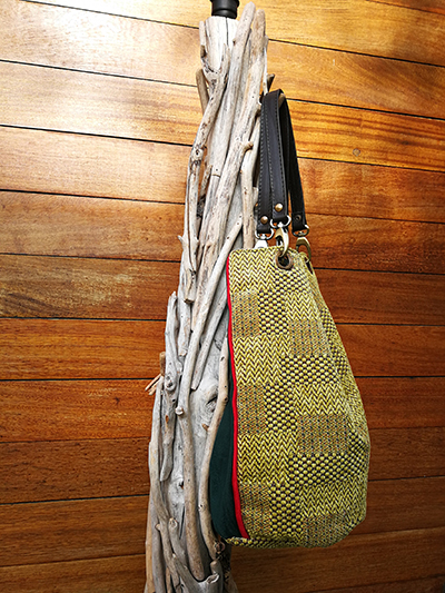 Handmade Bags Made From Voyage Of JO-442 Metropolitan CTR-105 Upholstery Fabric