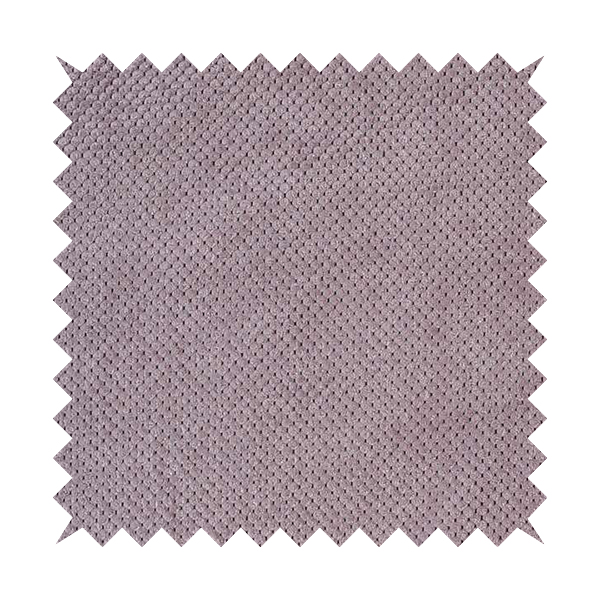 Norbury Dotted Effect Soft Textured Corduroy Upholstery Furnishings Fabric Lilac Pink Colour
