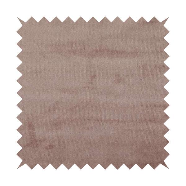 Oscar Deep Pile Plain Chenille Velvet Material Pink Colour Upholstery Fabric