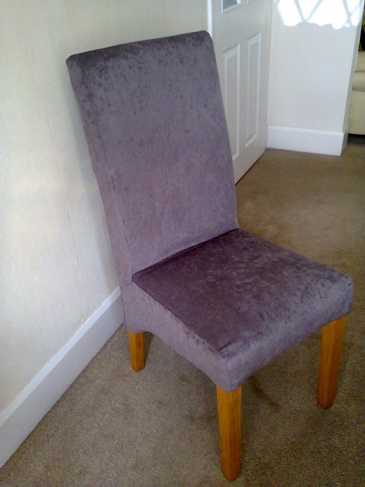 Dining Room Chairs From Leather To Fabric Chenille By Sandra
