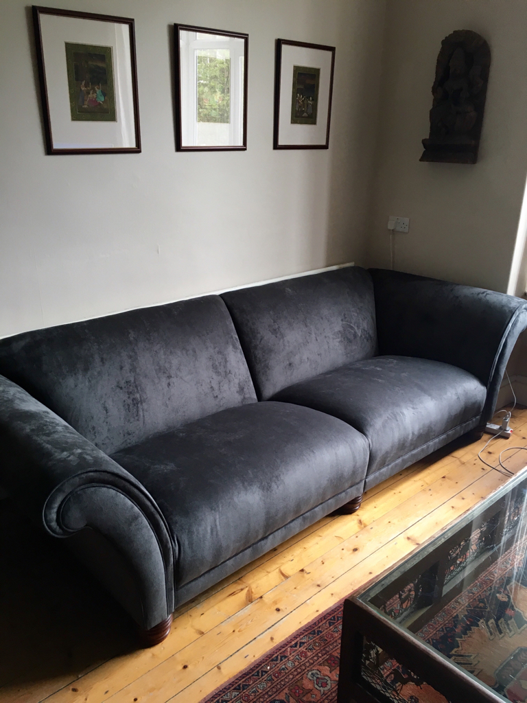 Shaun Covered His Sofas In Our Ammara10 Fabric