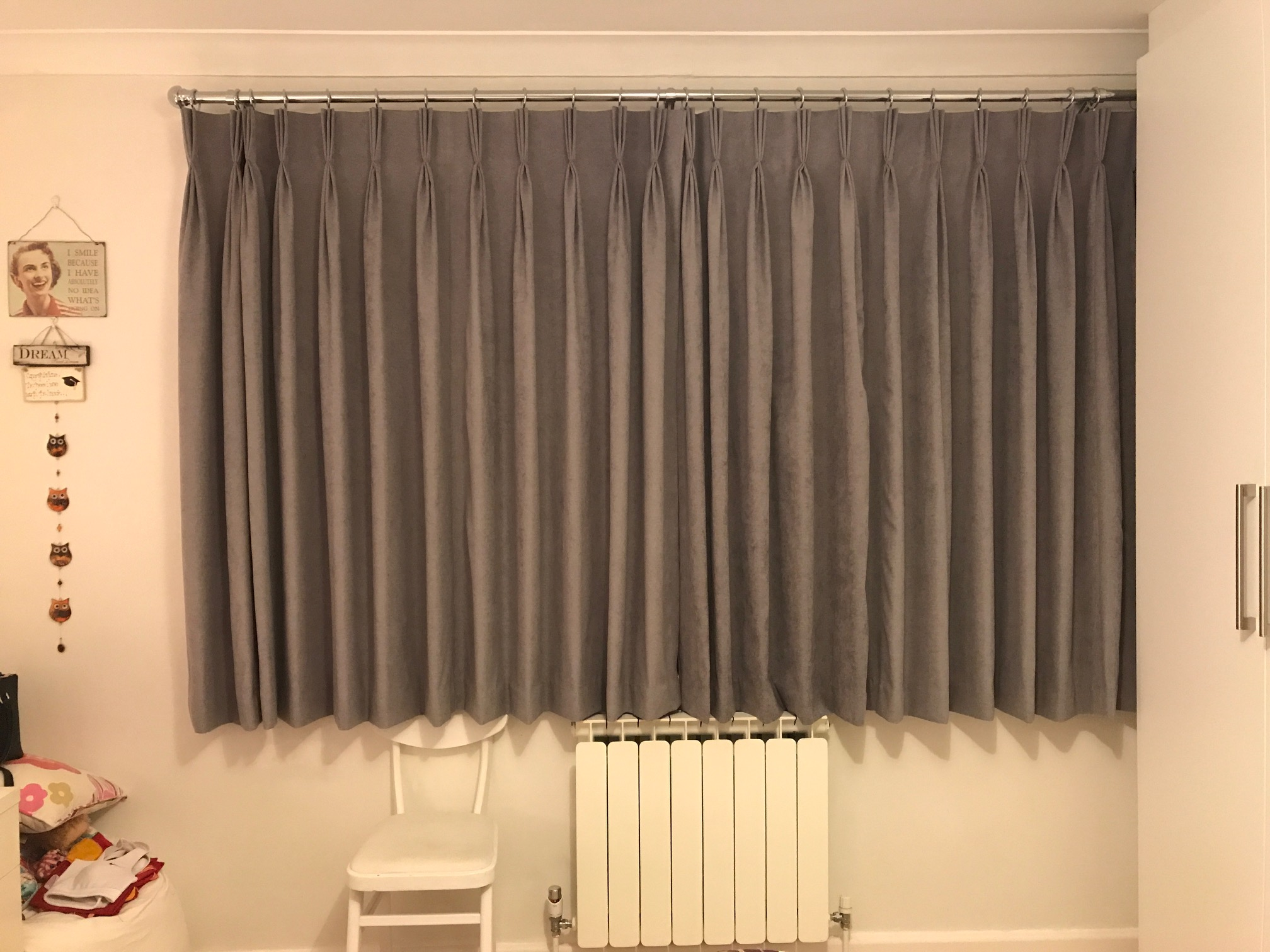 Sonia Ferri Made To Measure Curtains In Rachel90