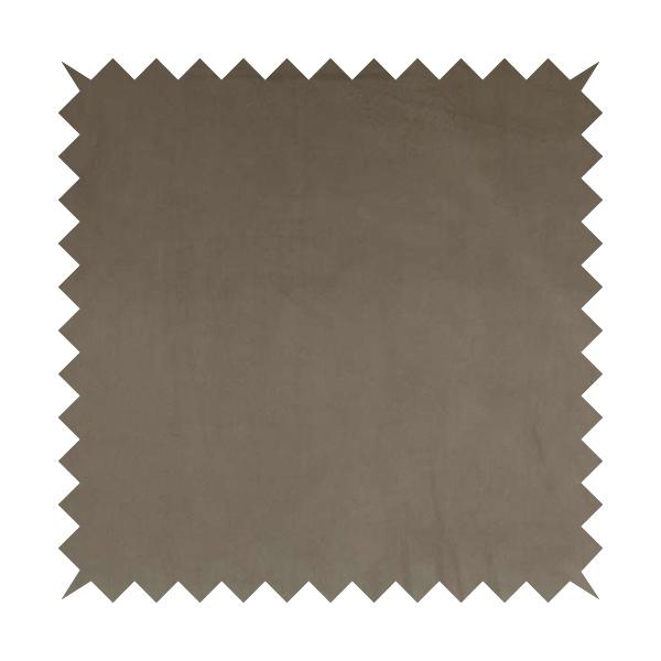 Venice Velvet Fabrics In Mink Brown Colour Furnishing Upholstery Velvet Fabric