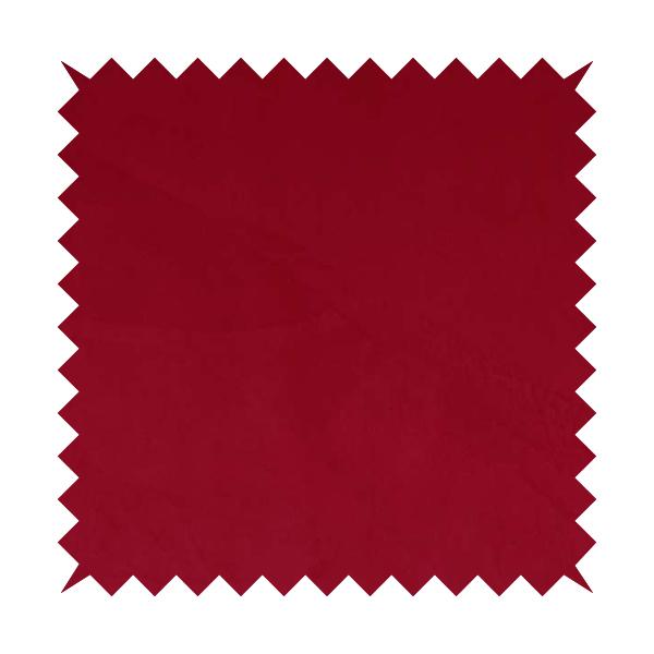 Venice Velvet Fabrics In Red Colour Furnishing Upholstery Velvet Fabric
