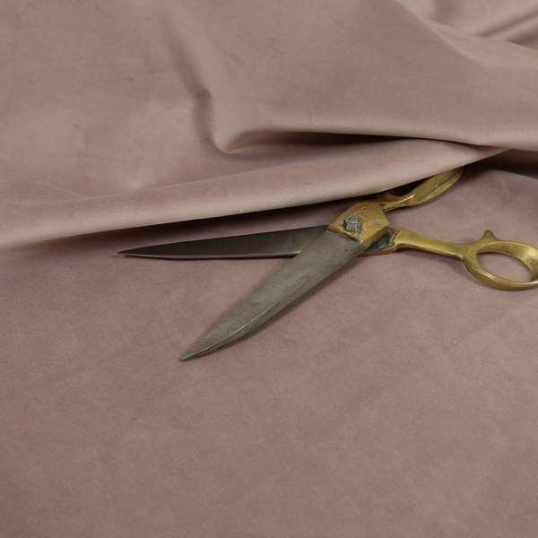 Venice Velvet Fabrics In Soft Pink Colour Furnishing Upholstery Velvet Fabric