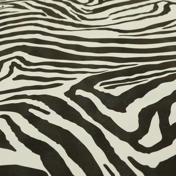 Zebra Faux Leather Fabrics